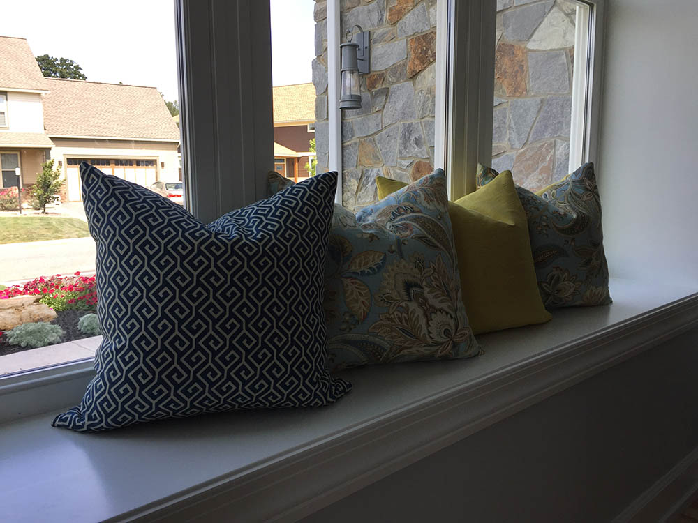 custom fabric pillow design